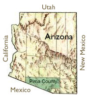 Pima County Map